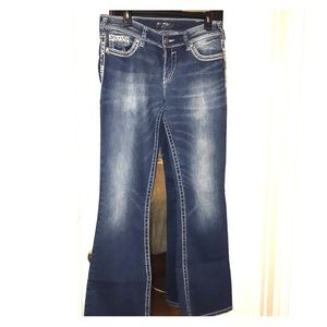 Woman's Silver Jeans